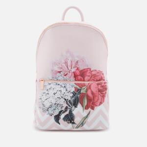 Ted Baker Women's Emise Palace Gardens Nylon Backpack - Dusky Pink