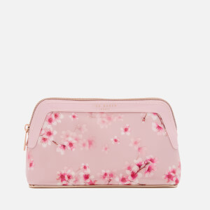 Ted Baker Women's Paget Soft Blossom Make Up Bag - Light Pink