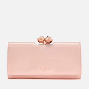 Ted Baker Women's Honeyy Twisted Bobble Patent Matinee Purse - Light Pink