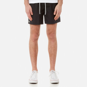 Lacoste Men's Basic Swim Shorts - Noir