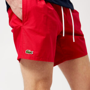 Lacoste Men's Basic Swim Shorts - Toreador