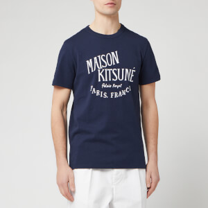 Maison Kitsune Men's Palais Royal T-Shirt - Navy