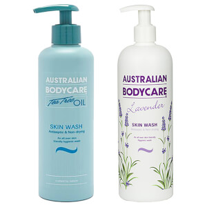 Australian Bodycare Lavender and Tea Tree Oil Skin Wash 2x500ml