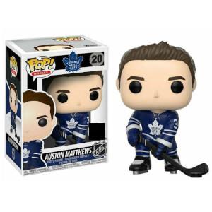 NHL Auston Mathews Home Jersey EXC Pop! Vinyl Figure