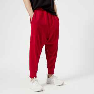 Y-3 Men's 3 Stripe Track Pants - Chili Pepper Undyed