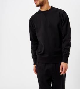 Y-3 Men's Cl Crew Neck Logo Back Sweatshirt - Black