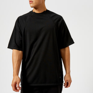 Y-3 Men's Poly Short Sleeve T-Shirt - Black