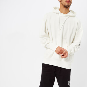 Y-3 Men's Hoodie Street Sweatshirt - Core White