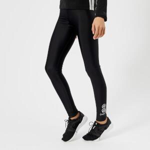 Y-3 Women's Stretch Leggings - Black/Core White