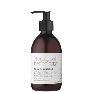 Скраб для тела с экстрактом папайи и маслом макадамии Elemental Herbology Macadamia and Papaya Body Scrub 200 мл