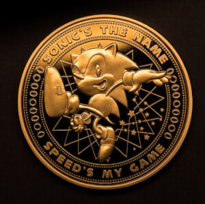 Sonic the Hedgehog Collectors Coin: Gold variant - Zavvi Exclusive (Limited to 1000)