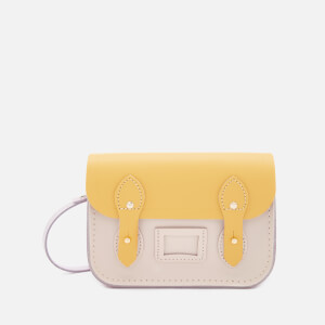 The Cambridge Satchel Company Women's Tiny Satchel - Light Lilac/Yellow/Chalk