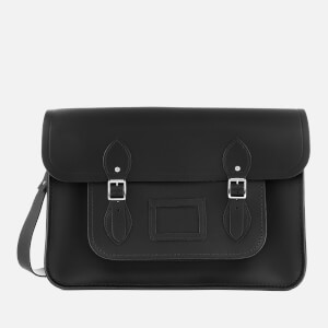 The Cambridge Satchel Company Women's 15 Inch Classic Satchel - Black
