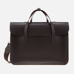 The Cambridge Satchel Company Women's Large Folio Bag - Dark Brown