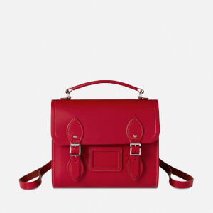 The Cambridge Satchel Company Women's Barrel Backpack - Crimson