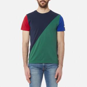 Tommy Hilfiger Men's Maddock Colour Block T-Shirt - Navy Blazer
