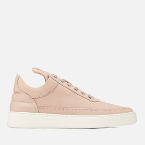 Filling Pieces Men's Plain Low Top Trainers - Nude