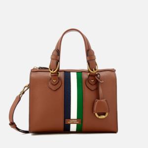 Lauren Ralph Lauren Women's Chesterfield Small Duffle Bag - Lauren Tan/Navy/White/Green Stripe