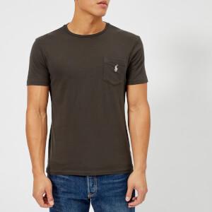 Polo Ralph Lauren Men's Crew Neck Pocket T-Shirt - Black Mask