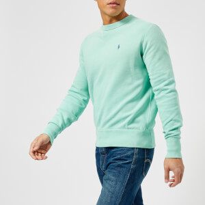 Polo Ralph Lauren Men's Crew Neck Loopback Sweatshirt - Bayside Green