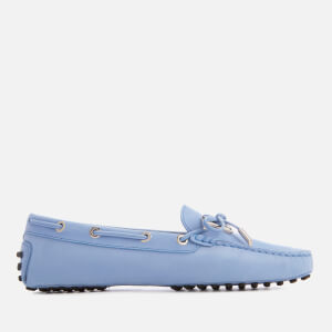 Tod's Women's Gommino Leather Driving Shoes - Blue