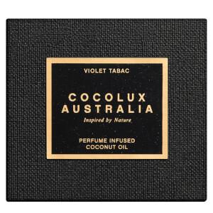 Cocolux Australia Violet Tabac Luna Brass Candle 225g