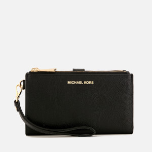 MICHAEL MICHAEL KORS Women's Double Zip Wristlet - Black