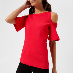 MICHAEL MICHAEL KORS Women's Off The Shoulder Top - True Red