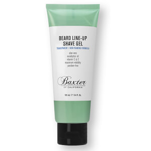 Baxter of California Beard Line-Up Shave Gel 3.4 oz