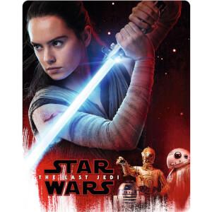 Star Wars: The Last Jedi - 4K Ultra HD (Includes 2D Blu-ray) - Zavvi UK Exclusive Limited Edition Steelbook