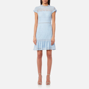 Foxiedox Women's Ellie Fit and Flare Dress - Celestial Blue