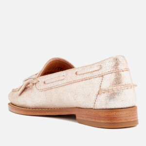 Bass Weejuns Women's Esther Suede Loafers - Silver: Image 2
