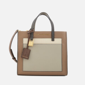 Marc Jacobs Women's Mini Grind Colourblock Bag - Gazelle Multi