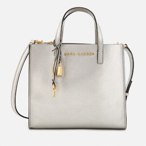 Marc Jacobs Women's Mini Grind Tote Bag - Silver