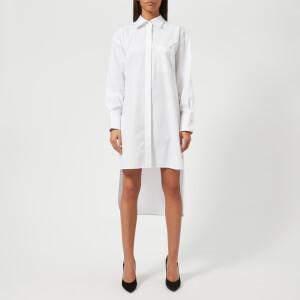 Helmut Lang Women's Open Pocket Shirt Dress - Bright White