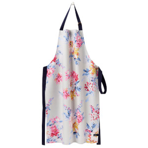 Joules Pinny Apron - Grey Whitstable Floral