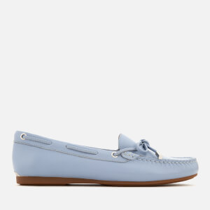 MICHAEL MICHAEL KORS Women's Sutton Tumbled Leather Moc Driver Shoes - Pale Blue