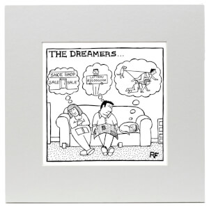 Off the Leash The Dreamers Art Print