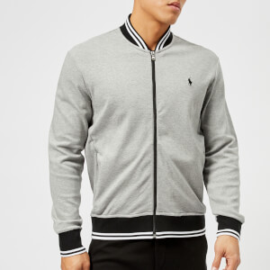 Polo Ralph Lauren Men's Tipped Baseball Jacket - Andover Heather