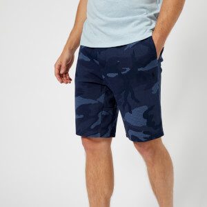 Polo Ralph Lauren Men's Double Knit Tech Shorts - Blue Camo