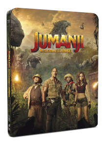 Jumanji: Willkommen im Dschungel - 4K Ultra HD (inkl. 2D Version) - Zavvi Exclusive Limited Edition Steelbook