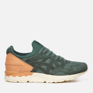 Asics Lifestyle Men's Gel-Lyte V Canvas Trainers - Dark Forest