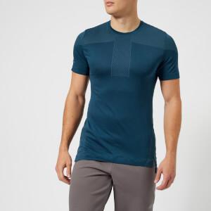 Asics Running Men's Cool Short Sleeve Seamless T-Shirt - Dark Blue