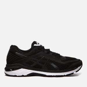 Asics Running Men's Gt-2000 6 Trainers - Black/White/Carbon