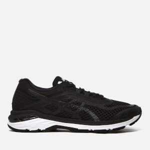 Asics Running Women's GT-2000 6 Trainers - Black/White/Carbon