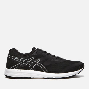Asics Men's Running Amplica Trainers - Black/Black/White