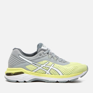 Asics Running Women's GT-2000 6 Trainers - Limelight/White/Mid Grey