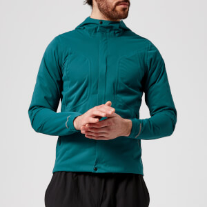 Asics Running Men's Accelerate Jacket - Blue Steel