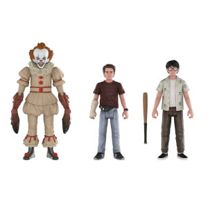 Confezione da 3 Funko Action Figures IT - Pennywise, Richie ed Eddie