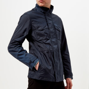 Michael Kors Men's Lightweight Packable 2 Pocket Field Jacket - Midnight